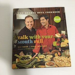 Food Newtwork Talk With Your Mouth Full cookbook